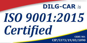 DILG-CAR is ISO 9001:2015 Certified!