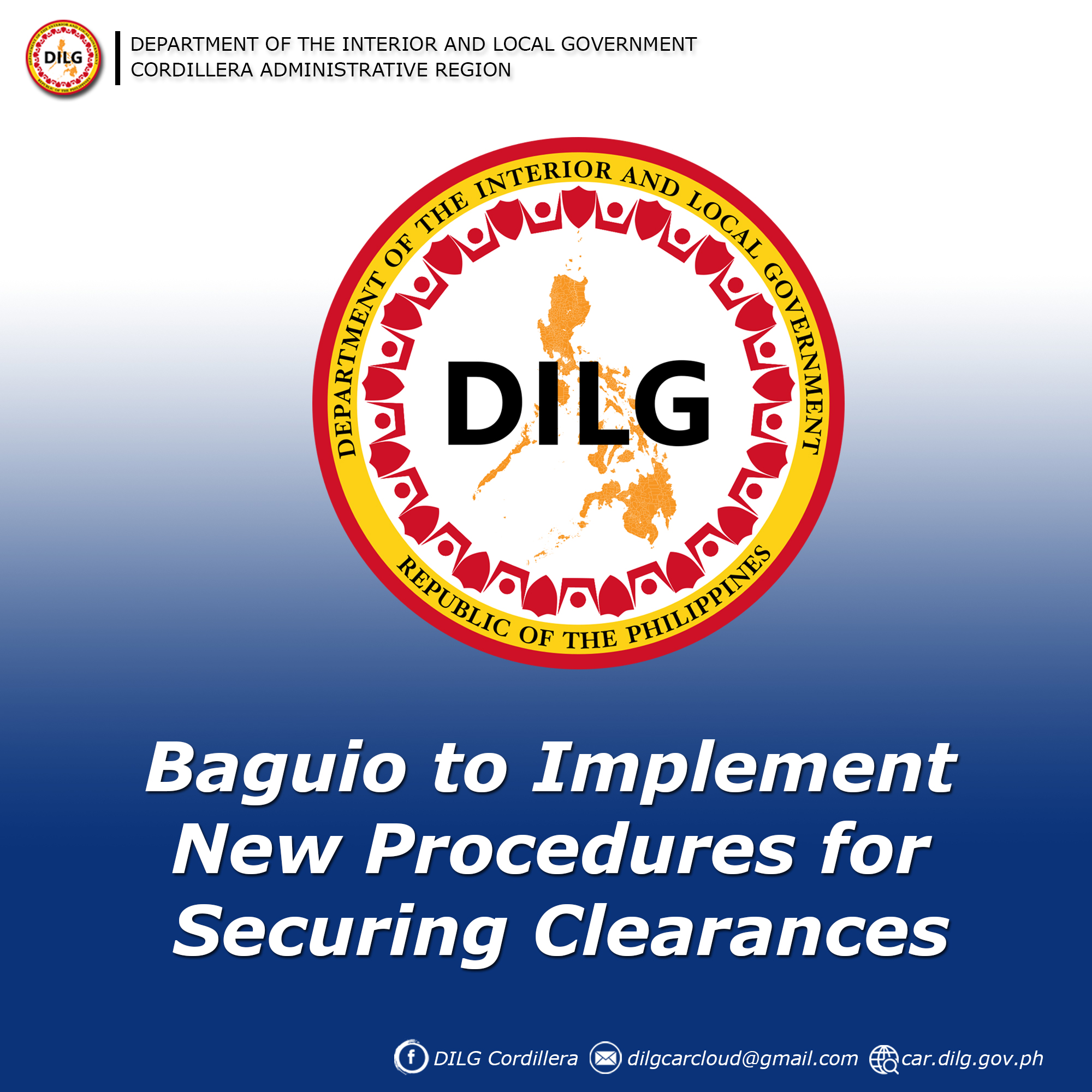 Baguio to Implement New Procedures for Securing Clearances