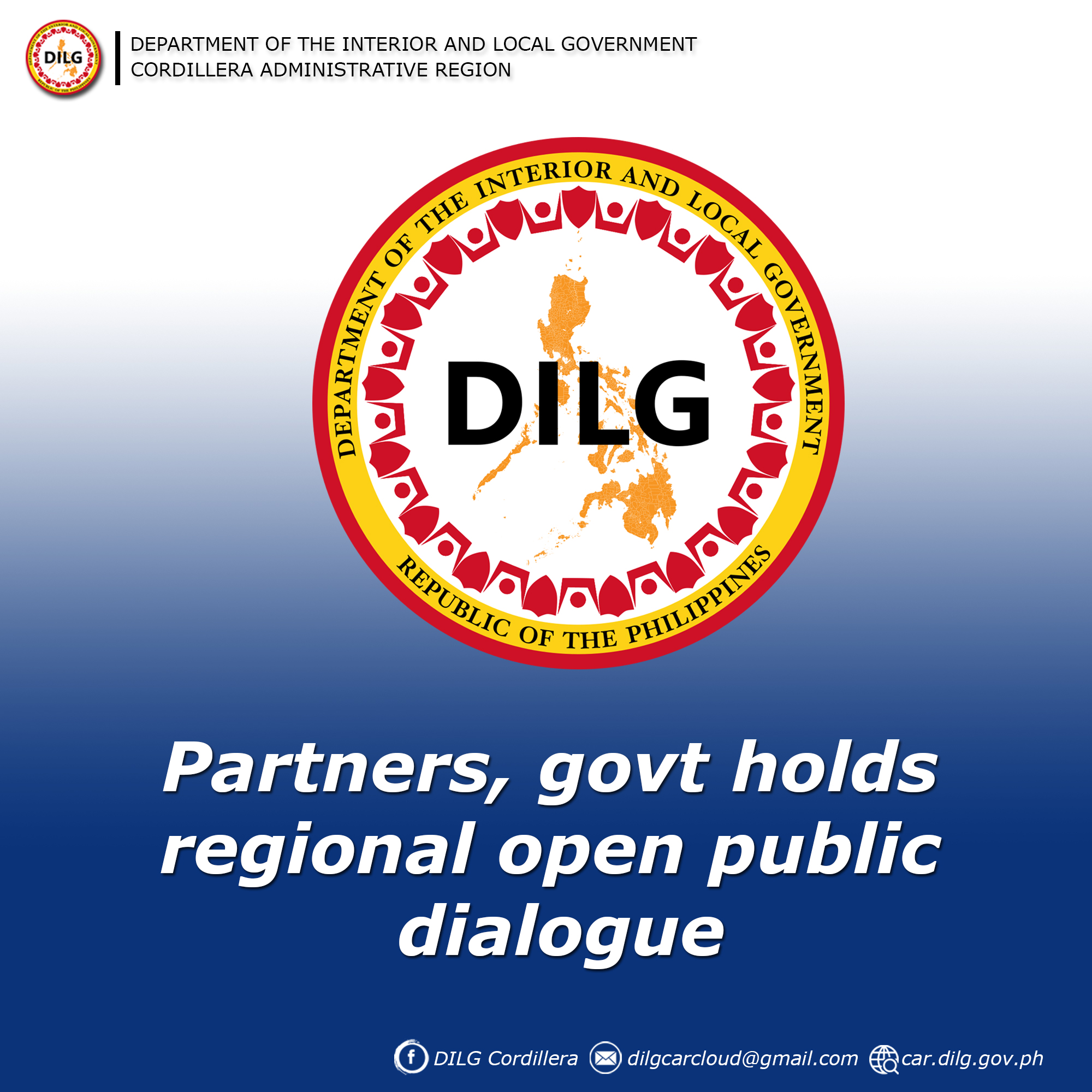 Partners, govt holds regional open public dialogue